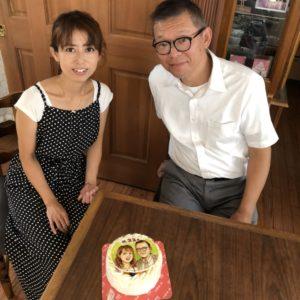キートス記念日ケーキ