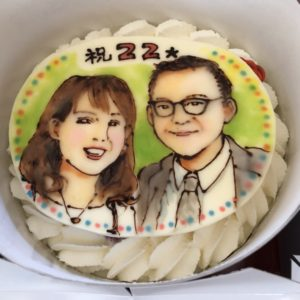 キートス記念ケーキ