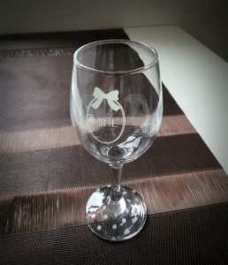 ポーセラーツdeワイングラス